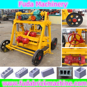 Cement Brick Making Machine with Block Laying Machine Qt40-3b pictures & photos