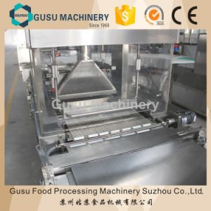 Ce Certified Snack Food Machine Peanut Candy Bar Chocolate Coating Enrober pictures & photos