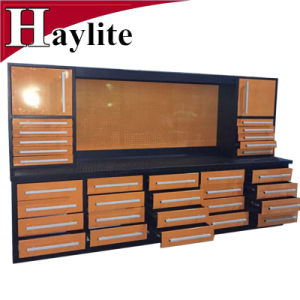 Metal Tool Storage Garage Workshop Use Cabinet Workbench with Tools pictures & photos
