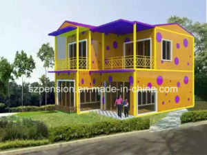 Low Pay Confortable Living Mobile Prefabricated/Prefab House/ Villa for Holidays pictures & photos