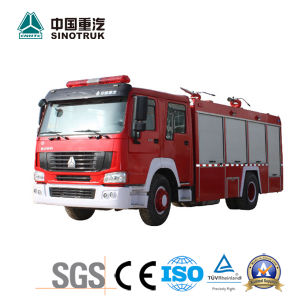 Top Quality HOWO Fire Truck of 8m3
