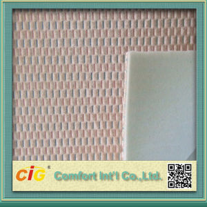 High Quality Colorful Sponge Laminated Seat Cover Fabric pictures & photos