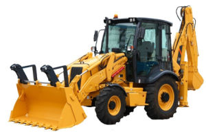Popular Model Cheap Price Backhoe Loader of 4X4 pictures & photos