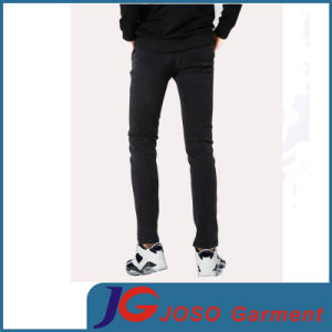 Leisure Black Fitted Skinny Jeans for Men (JC3403) pictures & photos
