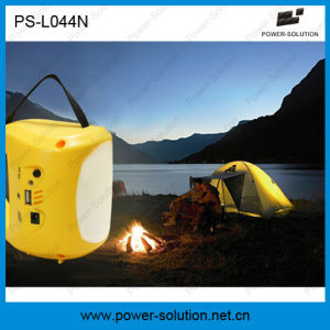 Portable Solar LED Lantern Light with Mobile Phone Charger (PS-L044N) pictures & photos
