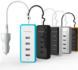 Quick Charger for Car Use, 4 USB Ports Available pictures & photos