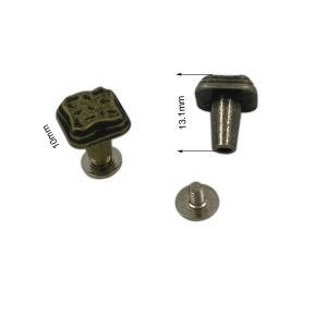 Dongguan Hardware Customized Antique Finshing Metal Rivet Screw pictures & photos