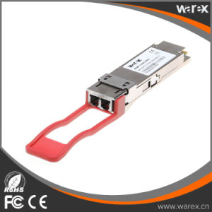 Cisco QSFP-40G-ER4 compatible 40GBase QSFP ER4 LC, 40 Km, 1310 nm QSFP+ transceiver pictures & photos