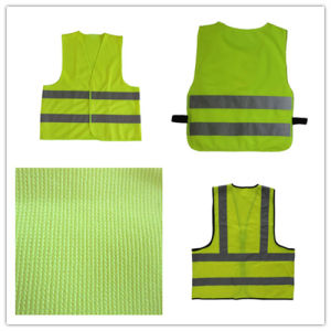 Polyester Traffic Vest with Yellow Reflective Strip pictures & photos