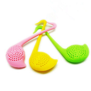 Creative Cute Music Point Silicone Tea Infuser/ Tea Bag Strainer pictures & photos