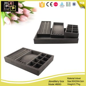 Jewelry Deplay Tray Velvet Tray (8063) pictures & photos