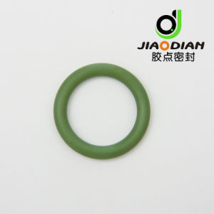 Rubber Seal Ring in Green HNBR/FKM O-Ring pictures & photos