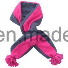 Fashion Winter Knitted Polar Fleece Polyester Long Scarf for Christmas pictures & photos