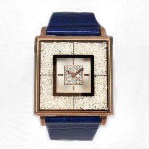 Custom Genuine Leather Lady Wrist Watch Lw-07b