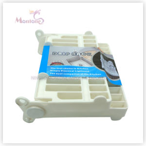 21.5*18*7cm Kitchen Foldable Plastic Storage Plate Holder/Organizer/Drainer, Dish Drip Rack pictures & photos