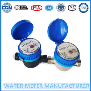 Dry Dial Nylon Single Jet Water Meter of China Water Meter pictures & photos