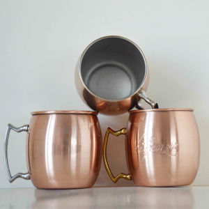 Copper Moscow Mule Mug 16oz Hammer Texture Mug pictures & photos