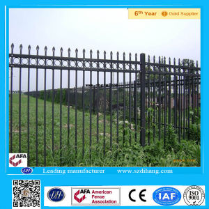 Wrought Iron Powder Coated Fencing Dh-Ya-3