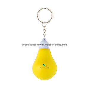 Mini Stress Ball Keychains with Bulb-Shaped pictures & photos