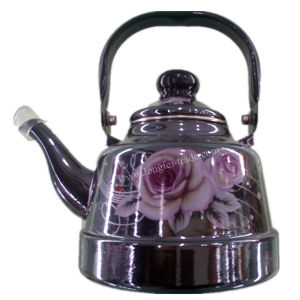 Porcelain Enamel Teapot, Enameled Kettle, Enamelware, Carbon Steel Kettle pictures & photos