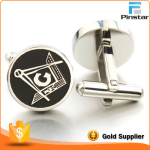 Pinstar Factory Wholesale Quality High Metal Men′s Cufflink pictures & photos