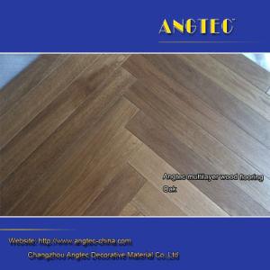 Herringbone Parquet Floor Engineered Wood Flooring pictures & photos