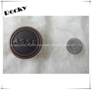 Wholesales Best Quality Plating Metal Jeans Shank Buttons pictures & photos