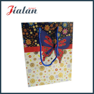 Two Sides Full Printing Logo Design Printed Paper Packing Bag pictures & photos