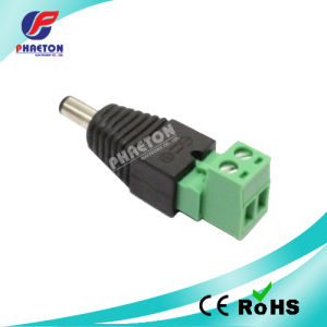 Male Plug 2.1mm CCTV DC Power Connector pictures & photos