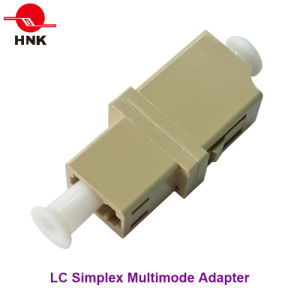 LC Simplex Multimode Standard Plastic Fiber Optic Adapter pictures & photos