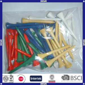 China Made Durable OEM Colorful Wood Golf Tee pictures & photos
