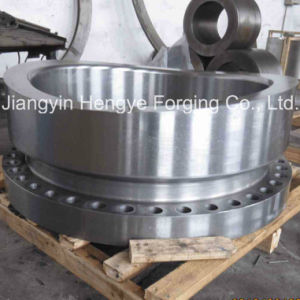 Hot Forged Nozzle Flange of Material A105 pictures & photos
