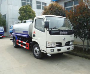 Dongfeng LHD/ Rhd 120HP 4X2 5000 Liter Water Tank Truck pictures & photos