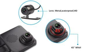 Car Black Box/Dual Lens GPS Car Dash Cam pictures & photos