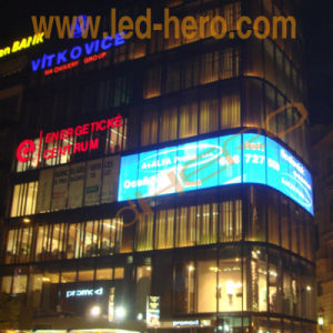 P5 High Transparency Indoor Transparent LED Display Building Video Wall pictures & photos