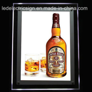 Acrylic Crystal LED Light Box with Acrylic Sheet for Advertising pictures & photos
