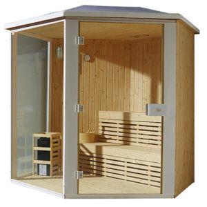 Monalisa European Hot Sale Outdoor Finland Sauna Room (M-6012) pictures & photos