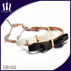 Leather Cuff Chain Bracelet Ob102 pictures & photos