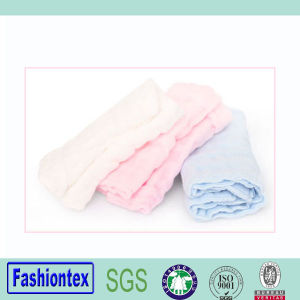 Wholesales Face Towel Burp Cloth Plain Baby Washcloth pictures & photos
