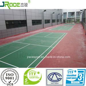 Outdoor Spu Badminton Court Mat Manufacturer pictures & photos