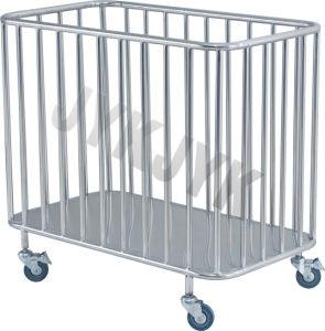 Stainless Steel Medical Trolley for Dirty Article pictures & photos