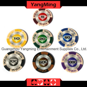 European Clay Poker Chips (YM-CY01) pictures & photos