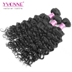 New Fashion Italian Curly Cambodian Remy Human Hair pictures & photos