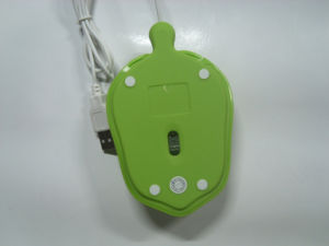 Individuality Dull Polish Little Turtle Wired Optical Mouse pictures & photos