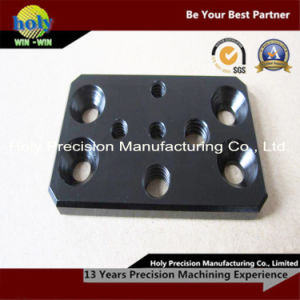 CNC Machining Aluminum Plate with Black Anodizing pictures & photos