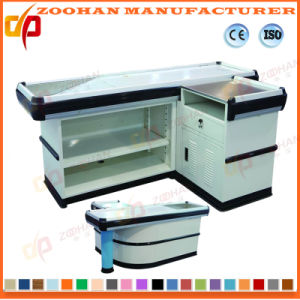 Supermarket Shop Store Checkout Stand Cash Desk Table (Zhc58) pictures & photos