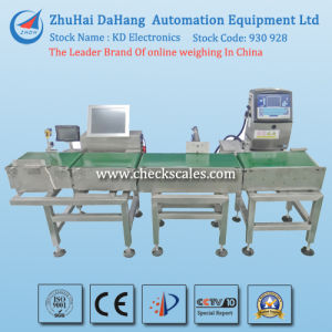 Barcode Weighing Machine/ Automatic Check Weigher (DCC-P3700) pictures & photos