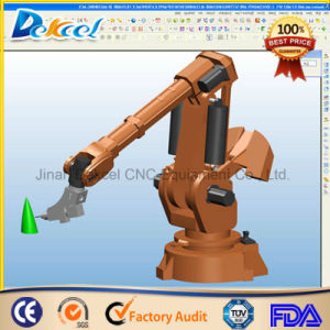 Fiber 1000W Full Automatic Industry 3D Robot/Manipulator Arm Laser Cutting Machine pictures & photos