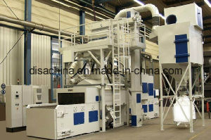 The Cleaning Equipment with Wheel Abrator