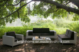 Outdoor Wicker Sofa Set/Kd Rattan Wicker Sofa pictures & photos